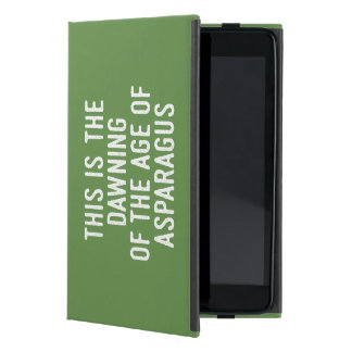 Funny typographic misheard song lyrics case for iPad mini
