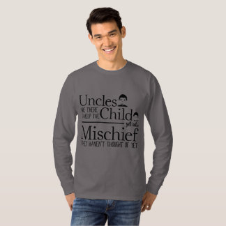 Funny Uncles Long Sleeve Shirt - Kind Uncle Quote
