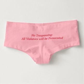 Funny Underwear for Women Hot Shorts
