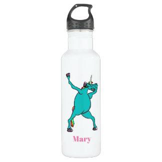 Funny Unicorn Dabbing Dance 710 Ml Water Bottle