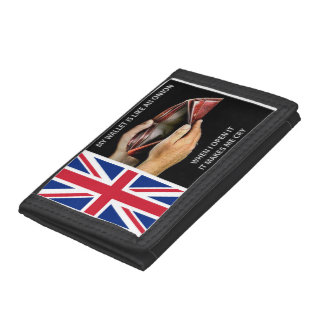 Funny Union Jack Wallet
