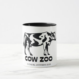 Funny Unique Cow Zoo Is Tmere Anything Else Mug