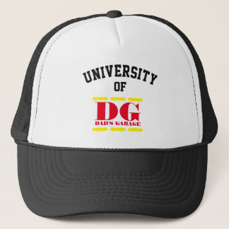 Funny - University of Dad's Garage - Trucker Hat