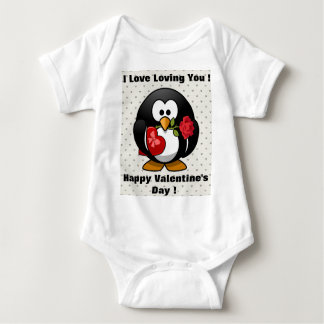 Funny Valentines Day Penguin Tshirt