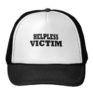 Funny Victim Mesh Hats