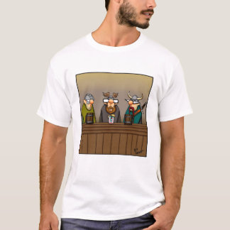 Funny Viking Drinking Humor Tee Shirt