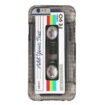 Funny Vintage 80s Retro Music Cassette Tape Barely There iPhone 6 Case