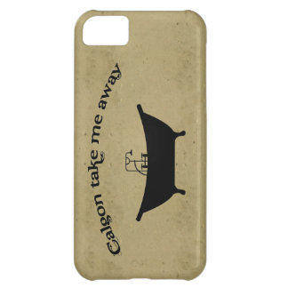Funny vintage calgon take me away retro girly chic iPhone 5C case