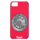 Funny Vintage dial phone Cover For iPhone 5C