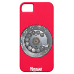 Funny Vintage dial phone iPhone 5 Cover