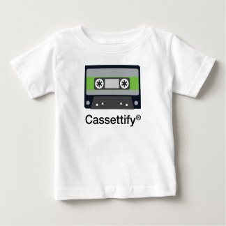 Funny Vintage Old Music Cassette Tape Baby T-Shirt