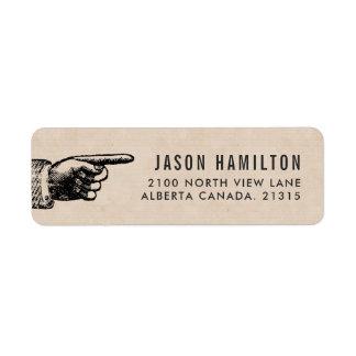 Funny Vintage | Personalized Return Address Return Address Label