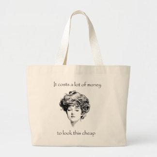 Funny Vintage Sass Tote Bag