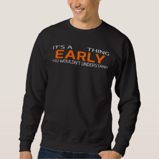 Funny Vintage Style T-Shirt for EARLY
