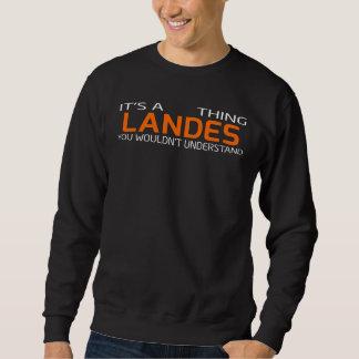 Funny Vintage Style T-Shirt for LANDES
