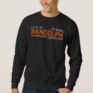 Funny Vintage Style T-Shirt for RANDOLPH