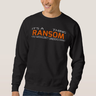 Funny Vintage Style T-Shirt for RANSOM