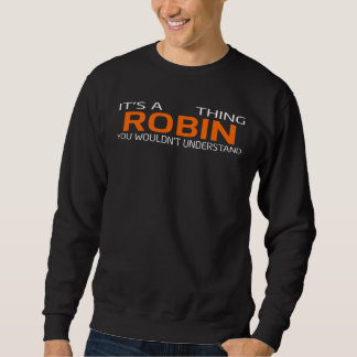 Funny Vintage Style T-Shirt for ROBIN