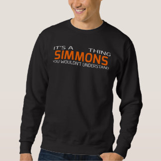 Funny Vintage Style T-Shirt for SIMMONS