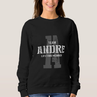 Funny Vintage Style TShirt for ANDRE