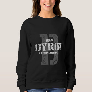 Funny Vintage Style TShirt for BYRON