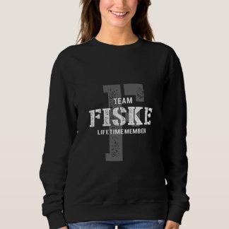 Funny Vintage Style TShirt for FISKE