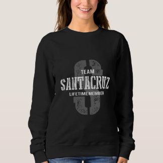Funny Vintage Style TShirt for SANTACRUZ