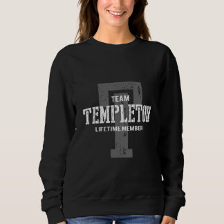 Funny Vintage Style TShirt for TEMPLETON