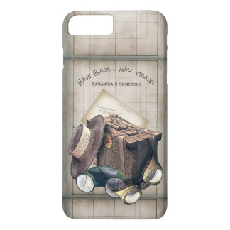 Funny Vintage Travel Illustration iPhone 8 Plus/7 Plus Case