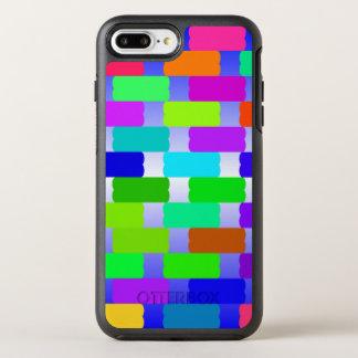 funny vivid pattern 2(C) OtterBox Symmetry iPhone 7 Plus Case