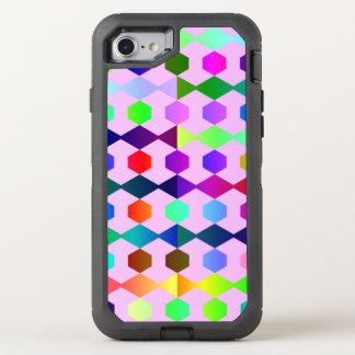 funny vivid pattern 3 (C) OtterBox Defender iPhone 7 Case