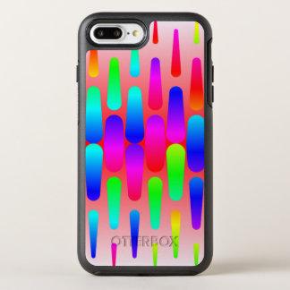funny vivid pattern 8 (C) OtterBox Symmetry iPhone 7 Plus Case