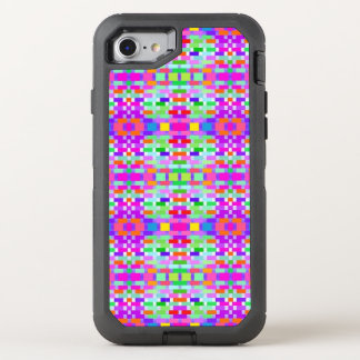 funny vivid pattern 9 (C) OtterBox Defender iPhone 7 Case