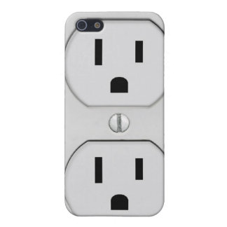Funny Wall Socket Plug, G4 Cover For iPhone 5