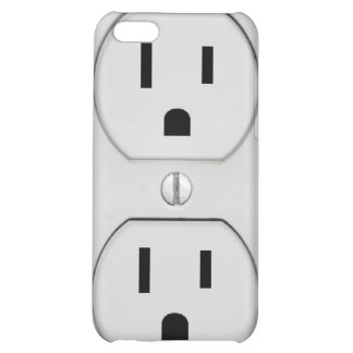 Funny Wall Socket Plug, G4 Case For iPhone 5C