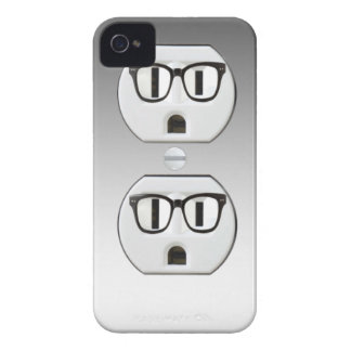 Funny Wall Socket Plug Iphone 4/4S Case-Mate Case Case-Mate iPhone 4 Cases