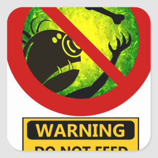 Funny Warning Signs Stickers | Zazzle.com.au