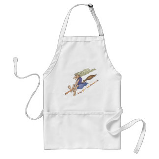 Funny Wart Witch Adult Apron