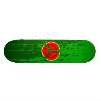 Funny Watermelon Peace Bright Colours Skate Board