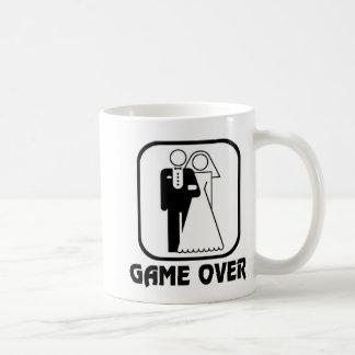 Funny wedding Game Over Coffee Mug