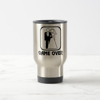 Funny wedding Game Over Stainless Steel Travel Mug