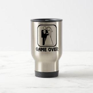 Funny wedding Game Over Travel Mug