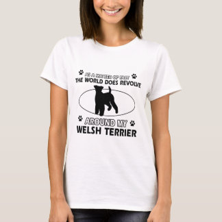 Funny welsh terrier designs T-Shirt