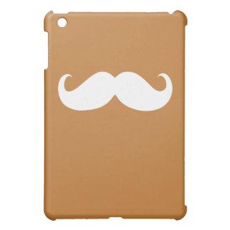 Funny White Mustache 2 Cover For The iPad Mini