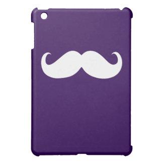 Funny White Mustache 9 iPad Mini Cover