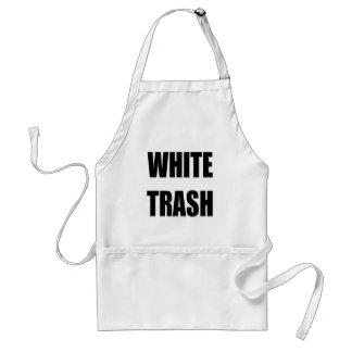 Funny White Trash T-shirts Gifts Standard Apron