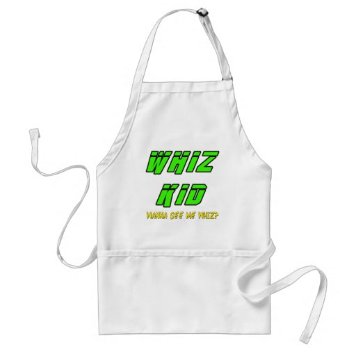 Funny Whiz Kid T-shirts Gifts Apron