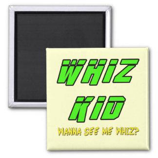 Funny Whiz Kid T-shirts Gifts Fridge Magnets
