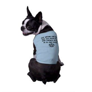 Funny Wiccan Pagan Cheeky Witch® Dog T-Shirt