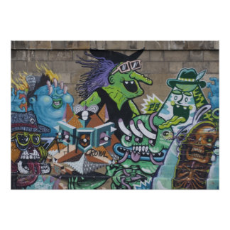 Funny Wicked Green Witch Poster